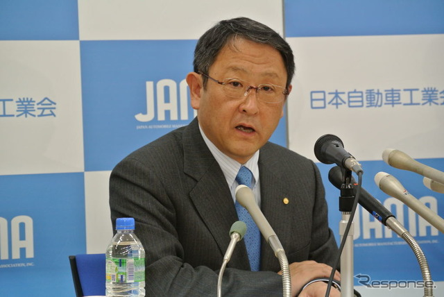 Japan Automobile Manufacturers Association, Chairman of Toyota Akio