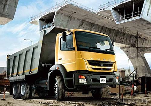 Kenya diperkenalkan berukuran besar truk FJ