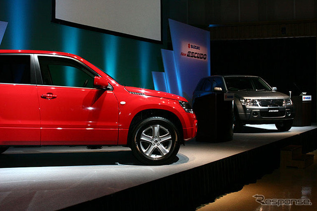 [Suzuki Vitara new model announcement] evolution, original compact SUV