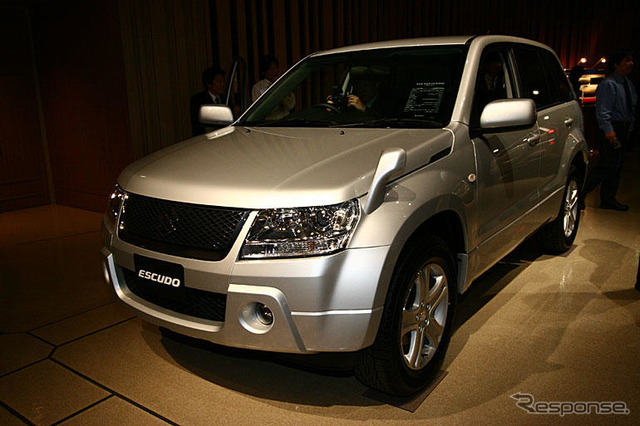 [Suzuki Vitara new model announcement] 2 x rigid body