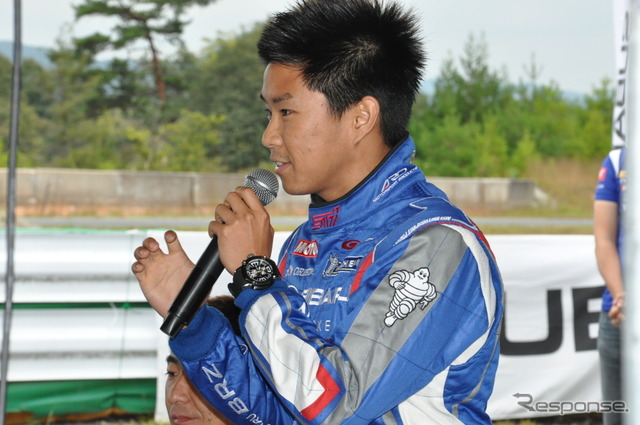 Iguchi Taku athletes racing driver