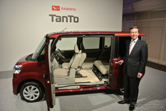 The Daihatsu Tanto announcement