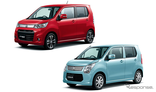 Suzuki Wagon R and wagon R Stingray