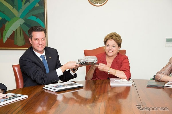 الرئيس الرئيس توماس شمال البرازيل فولكس واجن والبرازيل البرازيل--راش