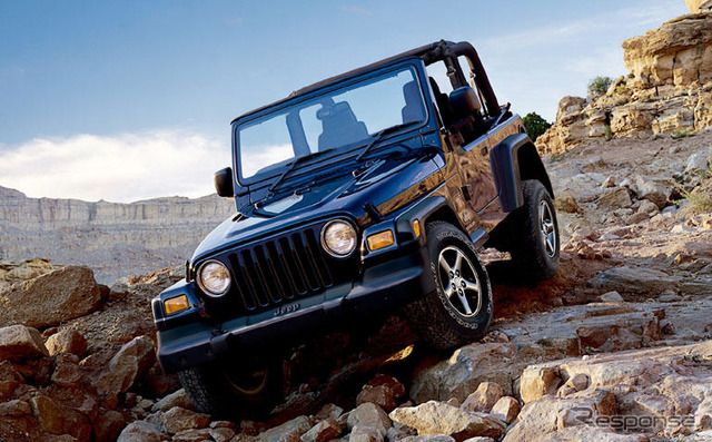 The Jeep Wrangler ultimate sports limited car