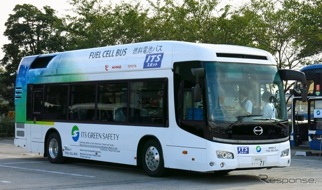 ITS World Congress FC buses