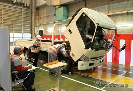 Hino nationwide service technology competition