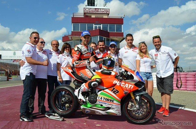Ducati in the Superbike World Championship ( SBK ) has participated in as team Ducati Alastair g.