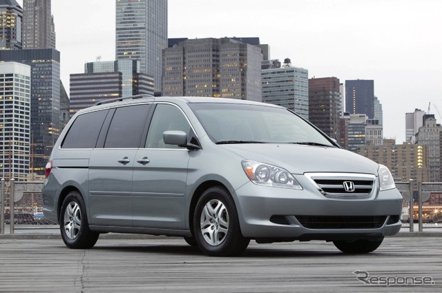 Honda Odyssey United States specifications