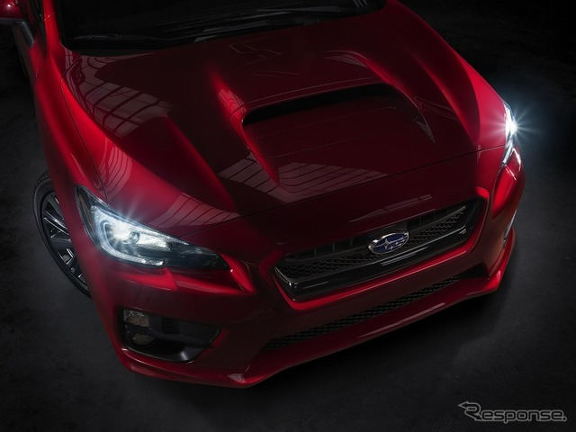 New Subaru WRX Official Preview Image