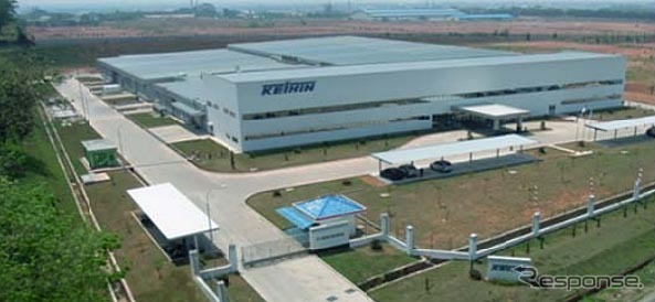 Keihin Indonesia factory