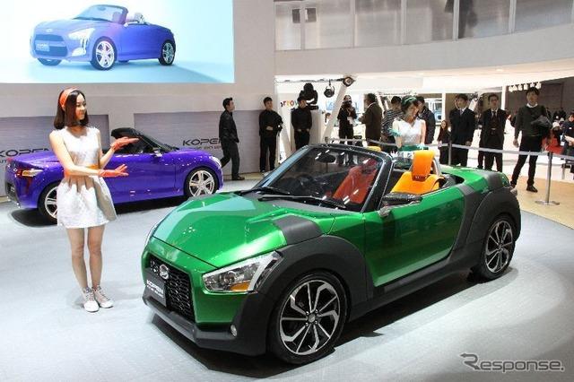 Outside plate interchangeable Copen (Tokyo Motor Show 13)