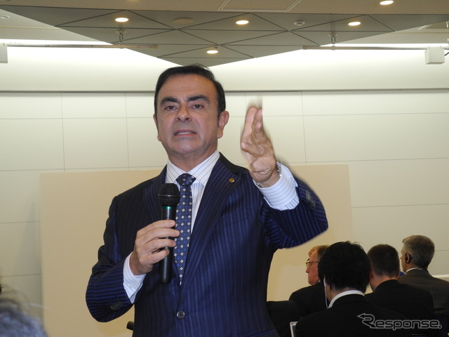 Carlos Ghosn of Nissan Motor Co.