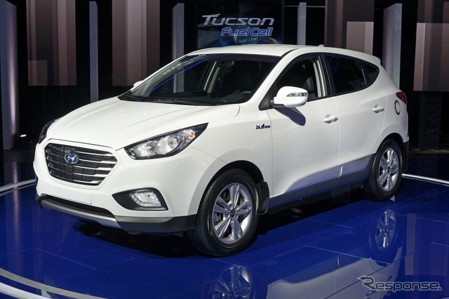 Hyundai Tucson fuel cell vehicle