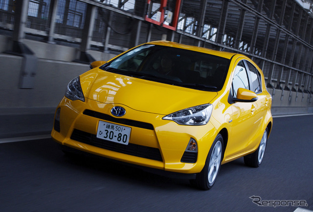Recapture the round the world mileage improvements Toyota Aqua Actual fuel consumption will do? ( photos current type )