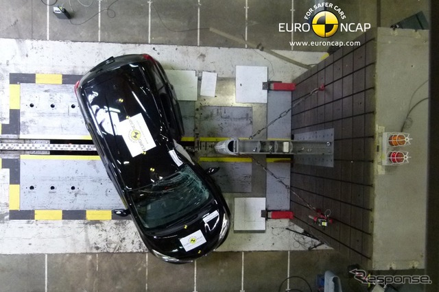 New Nissan note in Euro NCAP crash tests