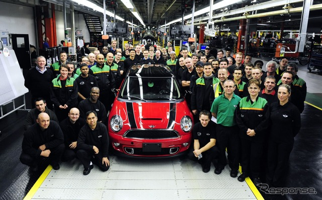Final model from British Oxford plant lined off current MINI hatchback