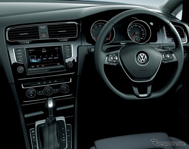 New golf, VW