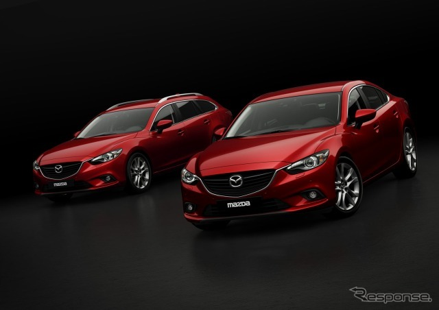 New Mazda 6 (Atenza) wagon and sedan