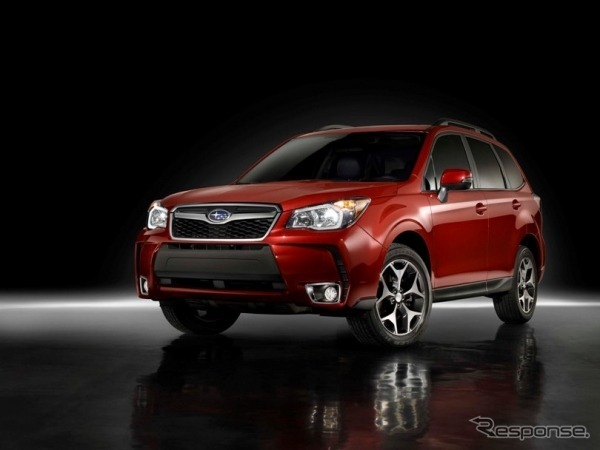 New Subaru Forester (United States specification car)