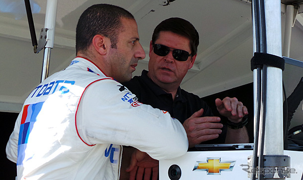 Tony Kanaan's first test with Chip Ganassi Racing to challenge
