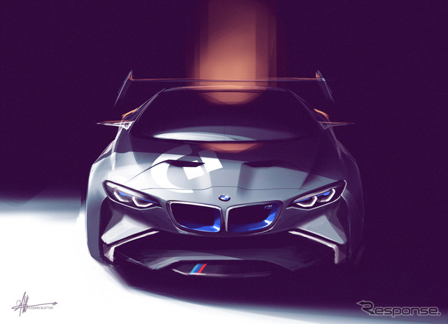 Gran Turismo 6's Vision Gran Turismo Collaboration Famous Automobile Maker (BMW) Creation