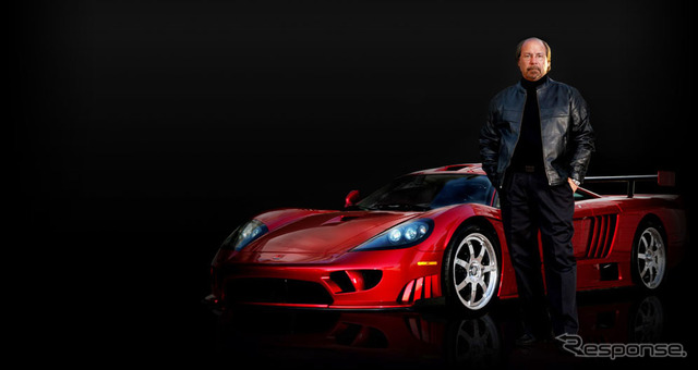 Steve Saleen's S7, Saleen CEO and the company's Supercars