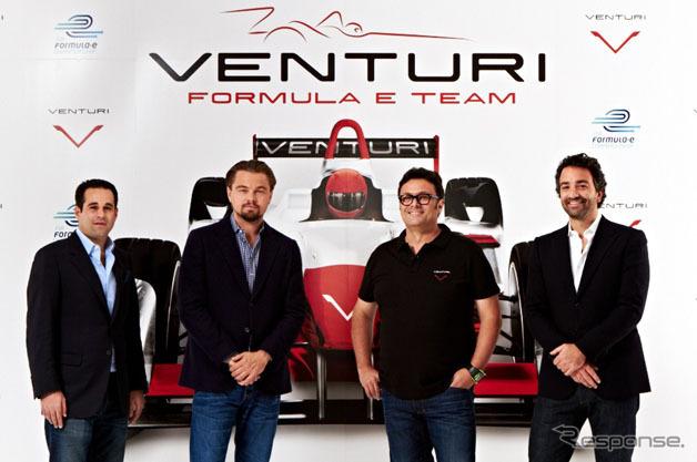 Venturi Grand Prix formula E team to participate in Leonardo DiCaprio