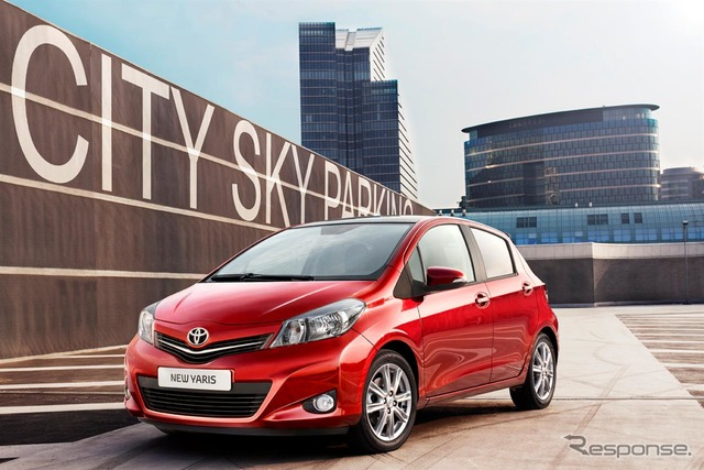 Toyota Yaris (Japan name: VITZ)