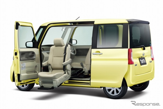 Daihatsu Tanto Welcome Seat