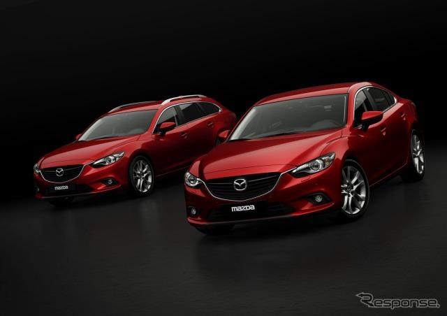 New Mazda 6 (Atenza) wagon and sedan