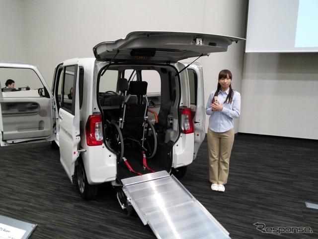 Daihatsu Horii Executive Officer, welfare vehicle enhancements to development of accreditation