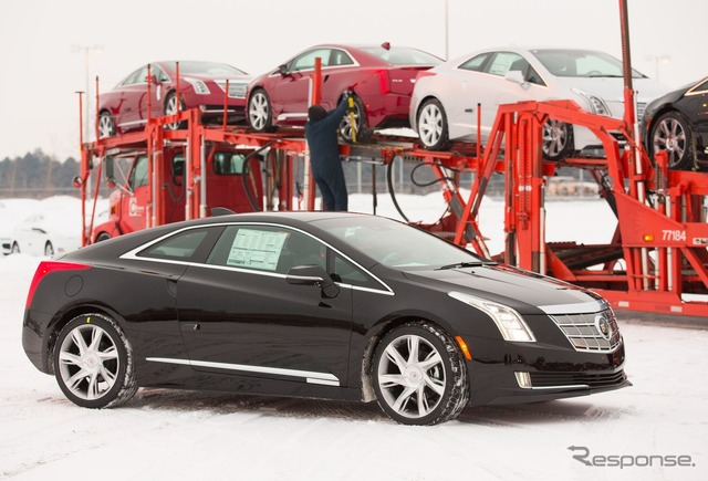 Cadillac ELR will be shipped from the ハムトラマック assembly plant in Detroit, Michigan, United States