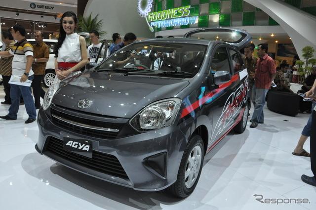 2013 Jakarta Motor Show: Toyota Agia