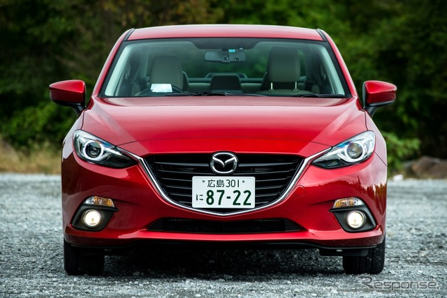 New Mazda Axela (reference image)