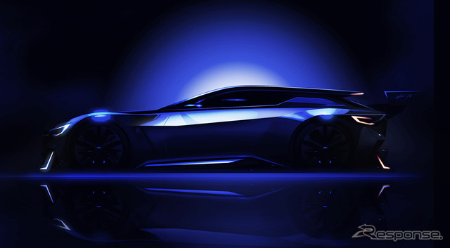 Subaru Vision GT Preview Sketch