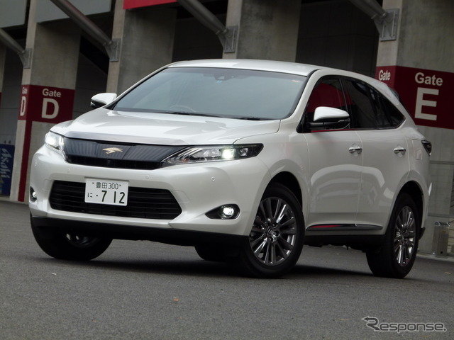 Toyota Harrier PREMIUM Advanced Package 4WD