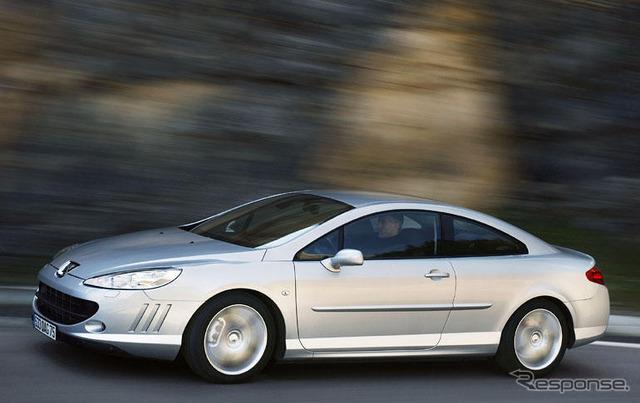 [05 Frankfurt Motor Show] Peugeot 407 Coupe publishing