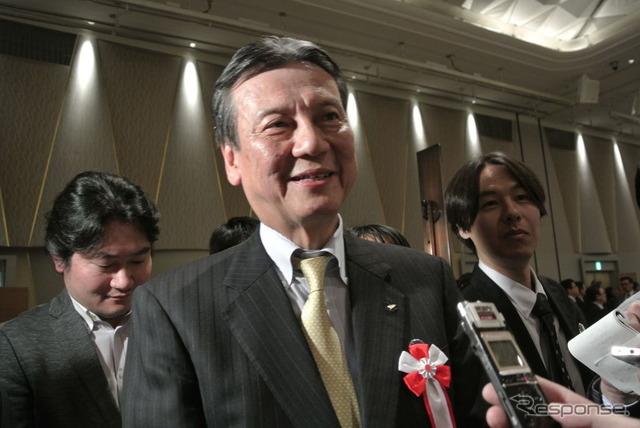 Daihatsu Motor Co. President Masanori Mitsui