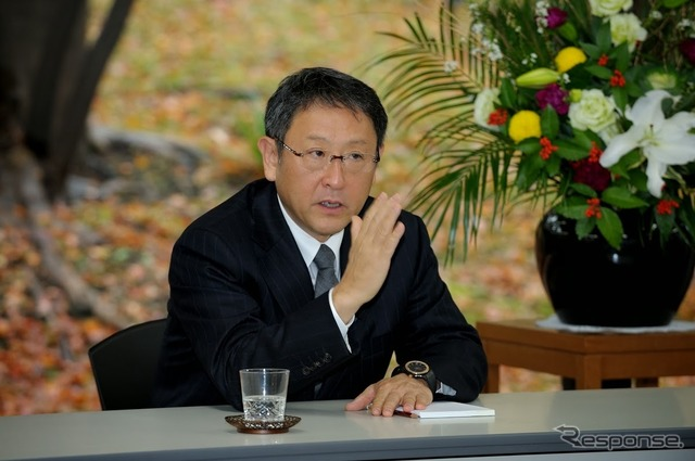 Toyoda Akio, Chairman (President of Toyota Automobile)