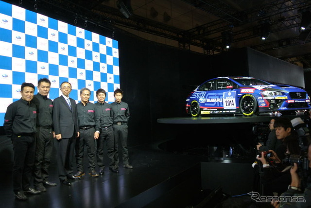 Subaru /STI 2014 Nurburgring 24-hour endurance race vehicle