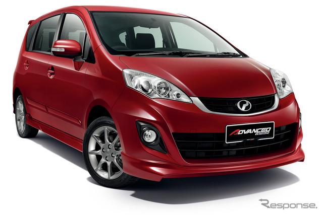 ALZA new compact minivan unveiled at Perodua, Malaysia. Old price