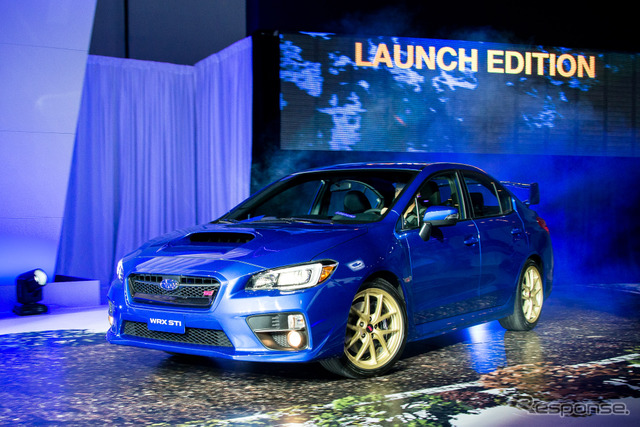 Subaru Press Conference (2014 Detroit Motor Show)