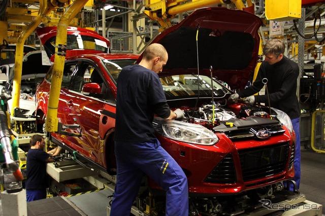 สำหรับฟอร์ดยุโรป โฟกัสจะผลิตที่โรงงานザールイในประเทศเยอรมนี