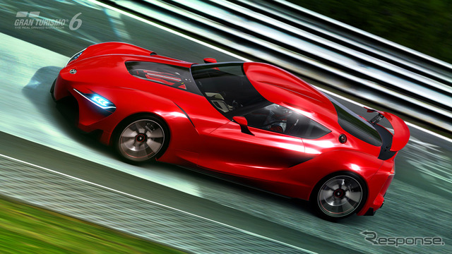 Toyota FT-1 debuted in Gran Turismo 6