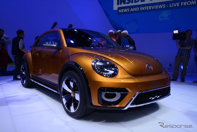 Volkswagen escarabajo, concepto duna (Detroit Motor Show 14)