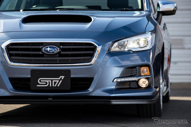 Subaru Levorg prototype with STI Performance Package