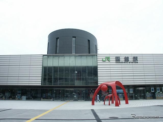JR Hokkaido Hakodate station (reference image)