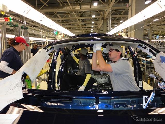 Toyota's Mississippi Plant