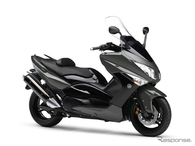 (Photo: European market for Yamaha TMAX)